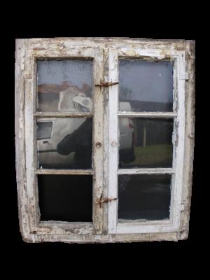altes Fenster von dem Lack entfernen